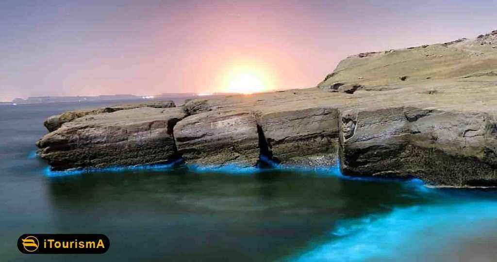 جزیره هنگام از مجموعه جزایر خلیج فارس