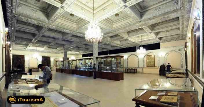 موزه آستان قدس رضوی، مجموعه ای از قرآن های باستانی و دیگر اشیای مربوط به دوران ابتدایی اسلام