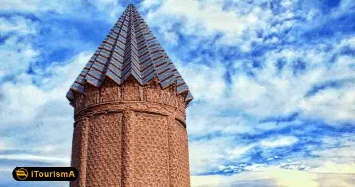 میل اخنگان، مقبره ای در نزدیکی شهر مشهد بر روی پایه ای هشت ضلعی