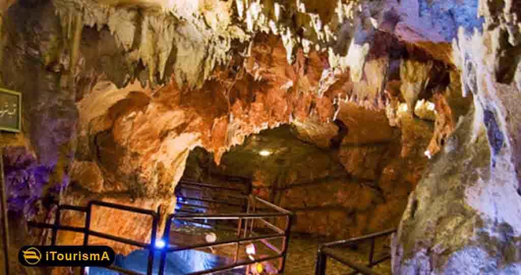بزرگترین و طولانی ترین غار آبی در خاورمیانه