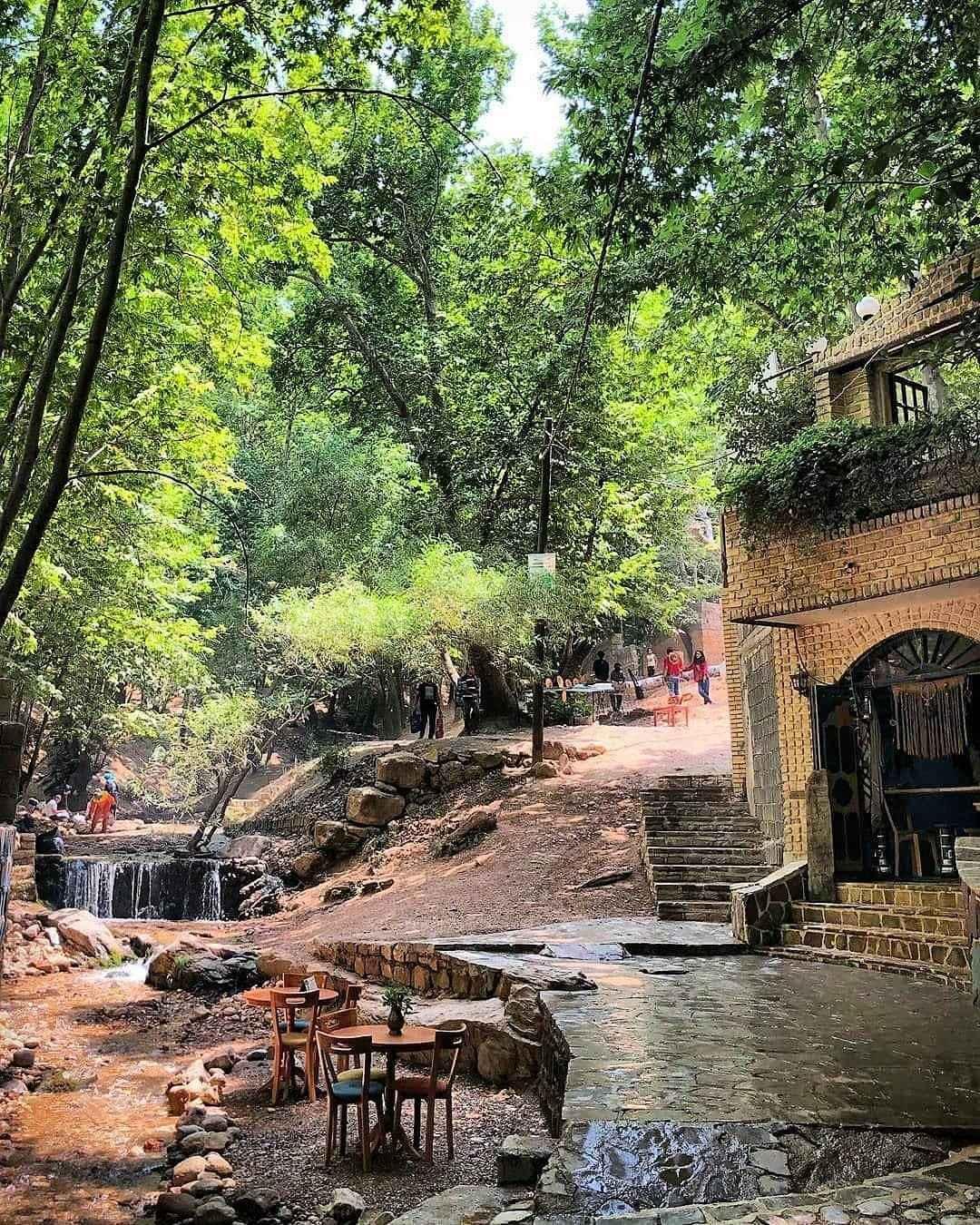 روستای قلات شیراز